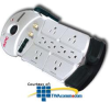 APC Essential Audio/Video 8 Outlet Coax Surge Protector -- P8T3V
