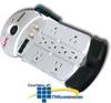 APC Essential Audio/Video 8 Outlet Coax Surge Protector -- P8T3V