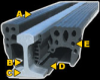 EPFLEX® Railseal/Enclosure Combo