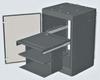 Datacommunication Cabinet -- 2500 PRI392524