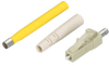 Fiber Optic Connector, Ceramic Ferrule, LC Multimode Simplex, 127-µm/2.0-mm -- FOT222