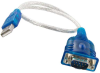 1ft USB to Serial RS232 DB9 Adapter -- UB30-40