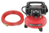 Air Compressor,0.8 HP,165 PSI Max, 4 Gal -- 6LCU3