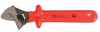 Insulated Adjustable Wrench,10 in.,Red -- 26X325