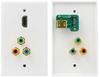 1Port HDMI 90 degree / RCA 3x (RGB) -- HDMI-RGB01 - Image