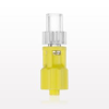 Rotating Male Luer Lock Connector, Yellow -- 17557 -- View Larger Image