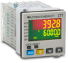 COUNTER TIMER TACH 100-240VAC OUT1-NPN & SPST OUT2-NPN 1/16 DIN -- CTT-AN-A120 - Image