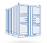 Refrigeration / Freezer Offshore Module -- IceBlue 3.0m High Cube Container