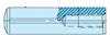 Dowel Pins with Pull Dowel - Metric -- WZ7005 Series