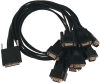 MDB68 to (8) DB9M Cable -- CA231