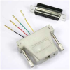 DB25 Female to RJ11 (4 wire) Modular Adapter -- 2720-SF-13