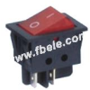 Double-poles Rocker Switch -- IRS-201-3A ON-OFF - Image