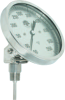 Adjustable Angle Bimetal Dial Thermometers -Image