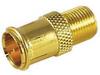 Gold F-Quick Plug -- 72-104