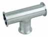 7MP7-1-304-W - Cole-Parmer, Sanitary Clamp Tee, 304L SS, 1