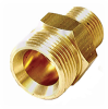 Twist Seal Coupler Plug 22mm 3/8 in MPT -- VM-331306
