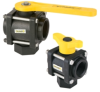 Banjo 3-Way Poly Ball Valves -- 30860