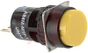 Pushbutton; Panel Mount; LED; 8 mA @ 5 VDC + 5%; SPDT; 0.4 VA (Max.) @ 28 VAC -- 70173288 - Image