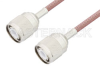 HN Male to HN Male Cable 48 Inch Length Using RG142 Coax, RoHS -- PE3083LF-48 -Image