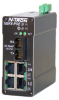 5 Port PoE Ethernet Switch (4 10/100BaseTX, 1 100BaseFX) -- 105FX-POE