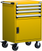 Heavy-Duty Mobile Cabinet, with Partitions -- R5BDG-3805 -Image