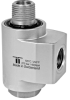 Mosmatic Stainless Hose Reel Swivel 3/8in x 3/8in 4,000psi -- MC-43262