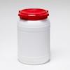 20 Liter Wide Neck Plastic Drum -- 7020 - Image