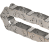Gortrac® Steel Cable And Hose Carriers -- SA Series