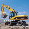 Caterpillar M322C Wheel Excavator