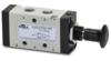 VALVE 1/8in NPT Cv=0.78 KNOB STYLE ACTUATOR 5-PORT 2-POS -- AVS-527D1-PP - Image