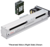 Linear Actuator (Slide) - Reversed Motor (Right Side), X-axis Table -- EAS6RX-D030-ARMK-3 -Image