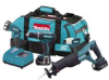 MAKITA 18 V LXT Lithium-Ion Cordless 4 Piece Combo Kit -- Model# LXT407