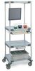 METRO Four-Shelf HPLC Cart -- 7077100