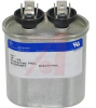 Capacitor;PolyPro Metallized;Cap 26 uF;Tol 3%;Vol-Rtg 580 AC;QC;HID;Oval -- 70103042