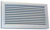 Door Louver,26-1/4 H,26-1/8 W,Aluminum -- 5NKN3