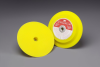 3M 13627 Medium Yellow Disc Pad - 7 in DIA - 1 in Thick - 5/8 - 11 Internal Thread Attachment -- 051144-13627 -- View Larger Image