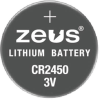 Batteries Non-Rechargeable (Primary) -- 2059-CR2450-ND - Image