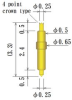Double Ended Probe Pin -- 8YF65L33-CRCNI -Image