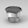 100PCS Stainless Steel 316 Metal Screw In Vents m12x1.5 Screw In Vents IP68