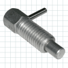 Short Stroke L Handle Stainless Steel Retractable Plungers - Image