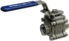 3-Piece 2000PSI SS Valve -- MS-2000 Series - Image