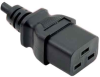 6ft 14AWG IEC-60320-C14 to IEC-60320-C19 Power Cord -- P-C19C14-14A-06