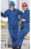 Ansell Sawyer-Tower 66-672 Blue 2XL CPC Nomex Trilaminate Reusable Welding & Heat-Resistant Overall - 31 in Inseam - 076490-66436 -- 076490-66436 - Image