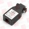 BLACK BOX CORP ME792A-MSP ( ASYNC RS232 EXTENDER OVER CATX DB9 M TO RJ11 ) -Image