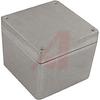 Enclosure; Aluminum Alloy; 4.75 X 4.75 X 4.00 in.; Natural; NEMA 4 -- 70148297