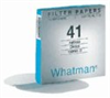 Whatman Quantitative Filter Papers-Ashless less than 0.010% ash; 11 cm dia; pore size, 2.5 µ; 100/box -- EW-06647-23 - Image