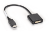 DisplayPort to DVI-D Adapter, Male/Female -- EVNDPDVI-MF-R3 -- View Larger Image