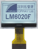 128x64 Graphic Display Module -- LM6020FCW-1 - Image
