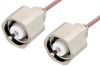 LC Male to LC Male Cable 72 Inch Length Using RG142 Coax, RoHS -- PE33541LF-72 -Image