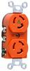 Locking Device Receptacle -- IG4700-WHITE
